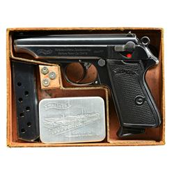 ONE OF 26 DOCUMENTED SS WALTHER PP SEMI AUTO
