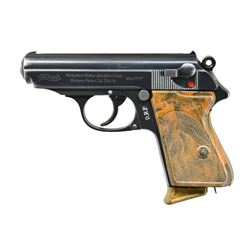 """""""DRP"""" MARKED 1936 VINTAGE WALTHER PPK W/ 90 DEGREE"""