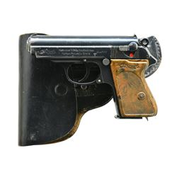 """RFV"" MARKED PRE WAR PPK W/ HOLSTER."