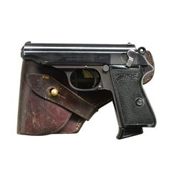 """RJ"" MARKED 1941 PRODUCTION WALTHER PP W/ HOLSTER"
