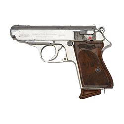 1939 PRODUCTION .22 CAL. CHROME PLATED WALTHER