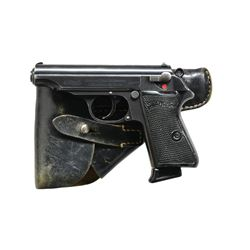 PRE WAR (1938 PRODUCTION) WALTHER PP W/ HOLSTER &