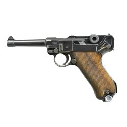 MAUSER S/42 CODE 1936 DATED LUGER SEMI-AUTO