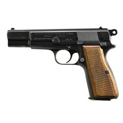 FN HI POWER AUSTRIAN CONTRACT SEMI AUTO PISTOL.