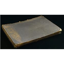 DOCUMENTED BOOK REMOVED FROM HITLER'S COURTYARD