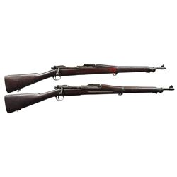2 US WW1 & WW2 SPRINGFIELD BOLT ACTION RIFLES.