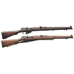 2 WWII AUSTRALIAN LEE ENFIELD NO. 1 BOLT ACTION