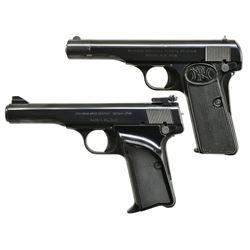2 FN 380 ACP SEMI AUTO PISTOLS.
