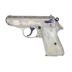 WALTHER / INTERARMS ENGRAVED PPK/S SEMI AUTO