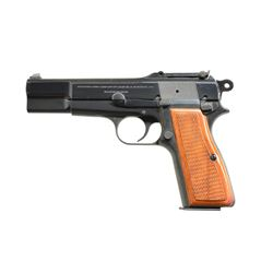 BROWNING HI POWER SEMI AUTO PISTOL.