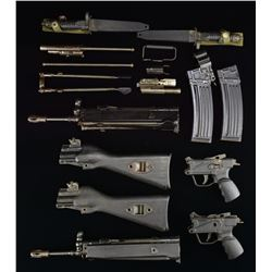 EXTREMELY DESIRABLE HK33 PARTS KITS W/ FACTORY