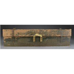 BRITISH MARK 1 T SNIPER RIFLE BOX.