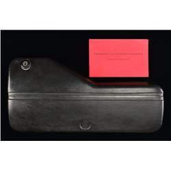 LOCKABLE MP5 MACHINE GUN CASE.