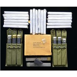 M3 GREASE GUN MAGS. & ACCESSORIES.
