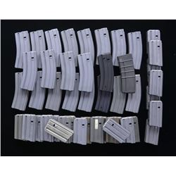 46 ASSORTED AR15/M16 MAGS.