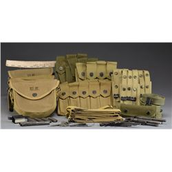 SMG & MG ACCESSORIES, WEB MAG. POUCHES & 45 1911