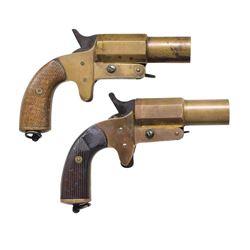 AH FOX & FRENCH FLARE GUNS.