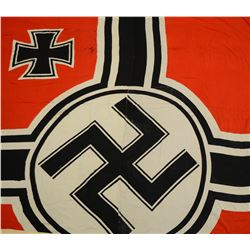 WWII GERMAN KRIEGSMARINE FLAG.