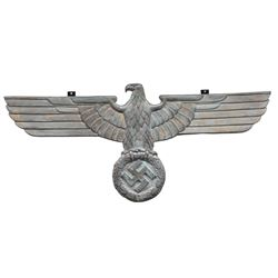 REPRODUCTION WWII GERMAN BRONZE BUILDING OR