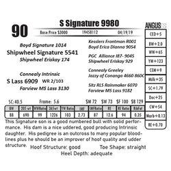 S Signature 9980