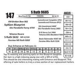 S Ruth 9685