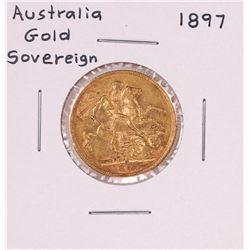 1897 Australia Sovereign Gold Coin