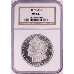 1879-S $1 Morgan Silver Dollar Coin NGC MS64* Star