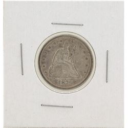 1875-S Seated Liberty Quarter Silver Coin