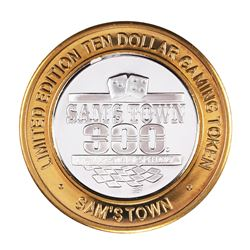 .999 Silver Sam's Town Las Vegas $10 Limited Edition Casino Gaming Token