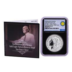 2020 Ultra High Relief Morgan's Eagle Design 2oz Silver Coin NGC PF70 Reverse Proof