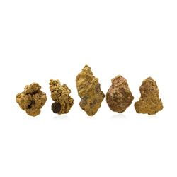 Lot of Gold Nuggets 3.58 Grams Total Weight