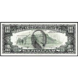 1988A $10 Federal Reserve Full Offset ERROR Note