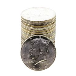 Roll of (20) Brilliant Uncirculated 1964-D Kennedy Half Dollar Coins Nice Toning
