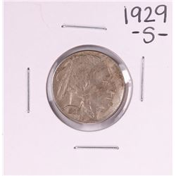 1929-S Buffalo Nickel Coin