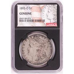 1895-O $1 Morgan Silver Dollar Coin NGC Genuine