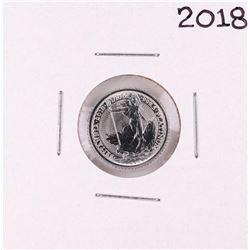 2018 United Kingdom Britannia 1/10oz Platinum Coin