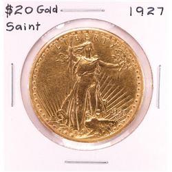 1927 $20 Saint Gaudens Double Eagle Gold Coin