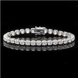 18K Gold 8.56ct Diamond Bracelet