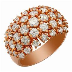 14k White Gold 3.49ct Diamond Ring