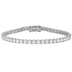 18k White Gold 6.65ct Diamond Bracelet