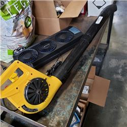 BIONAIRE FAN AND ELECTRIC LEAF BLOWER