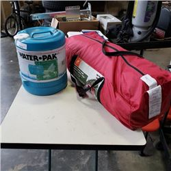3 PIECE OZARK TRAIL CAMP COMBO AND WATER JUG