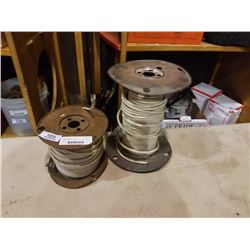 2 spools of house hold wire