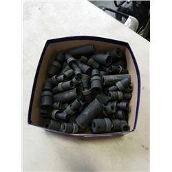 TRAY OF NEW BLACK WESTWARD SOCKETS