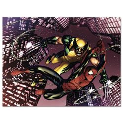 "Marvel Comics ""Astonishing Spider-Man & Wolverine #1"" Numbered Limited Edition Giclee on Canvas by A"