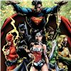 "Image 2 : ""Justice League"" Numbered Limited Edition Giclee from DC Comics & David Finch with COA"