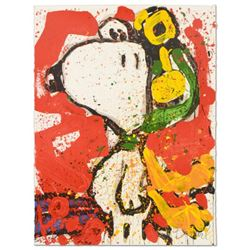 "Tom Everhart- Hand Pulled Original Lithograph ""To Remember…"""