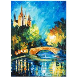 "Leonid Afremov (1955-2019) ""Perfect Night"" Limited Edition Giclee on Canvas, Numbered and Signed. Th"