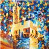 """Image 2 : Leonid Afremov (1955-2019) """"David's Citadel"""" Limited Edition Giclee on Canvas, Numbered and Signed."""