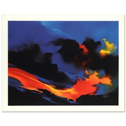 "Thomas Leung, ""Fire Surf"" Limited Edition, Numbered and Hand Signed with Letter of Authenticity."